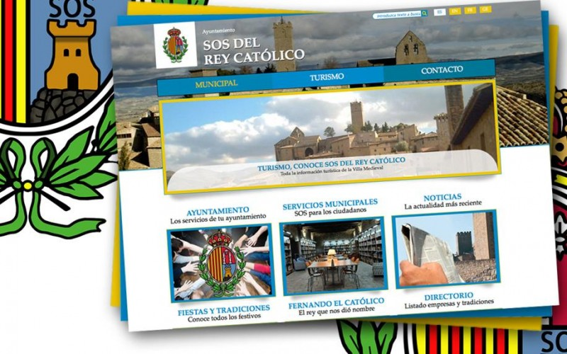 El Ayuntamiento de Sos estrena nueva web