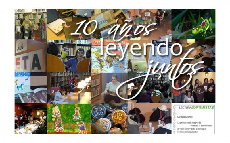 biblioteca 10 años