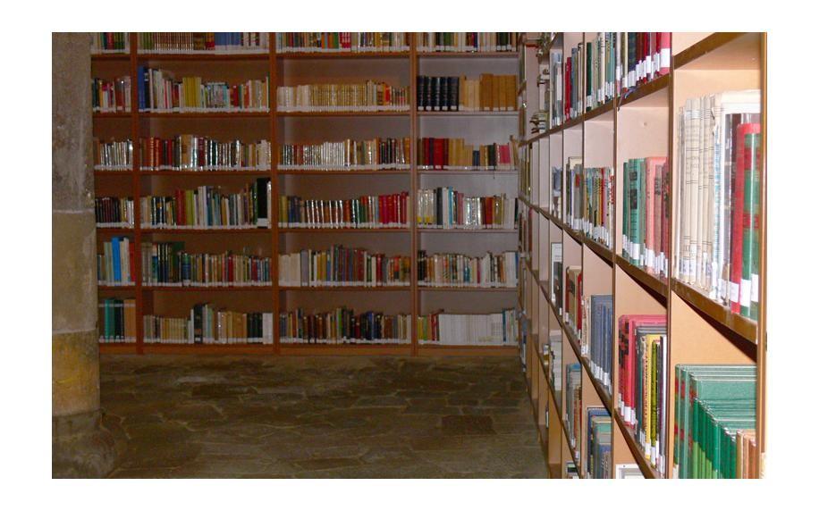 Abierto el depósito de la biblioteca municipal
