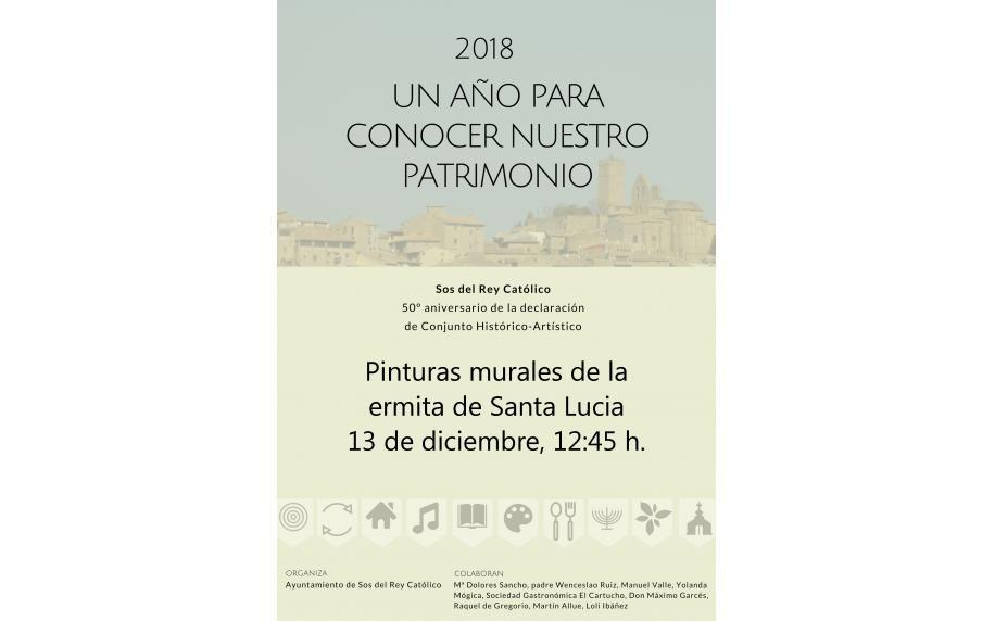 2018 UN AÑO PARA CONOCER NUESTRO PATRIMONIO